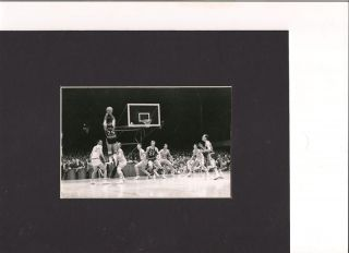 Duke Blue Devils Great Art Heyman Matted Photo vs UNC