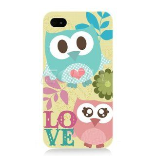 Ecell Head Case Designs Owl Case for iPhone 4/4S   Kawaii