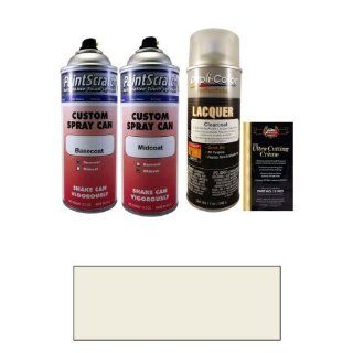 Tricoat 12.5 Oz. White Pearl Tricoat Spray Can Paint Kit for 2010