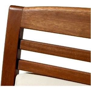 ALL WEATHER OUTDOOR PATIO DECK HARDWOOD ARM CHAIR