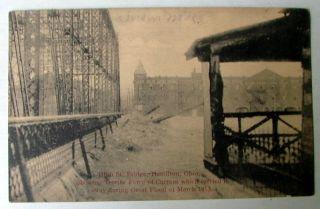 Hamilton Ohio 1913 Flood High St Bridge Disaster
