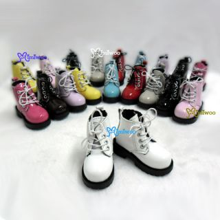 MSD Doc 1 4 BJD Obitsu 60cm Doll Boots High Hill Shoes White