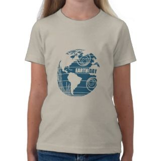 Earth Day Nature Frienly and Organic T Shirts
