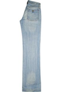 Earnest Sewn Mid rise wide leg jeans    88% Off