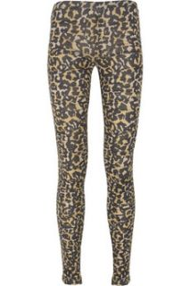 Sass & bide Leopard Rats ruched leggings   70% Off