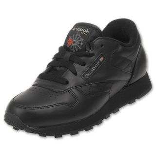Reebok Kids Classic Leather Black