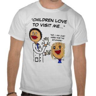 Doctor Cartoon Joke Tshirt
