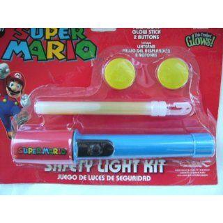 Super Mario Safety Light Kit w/ Flashlight, Glowstick, & 2