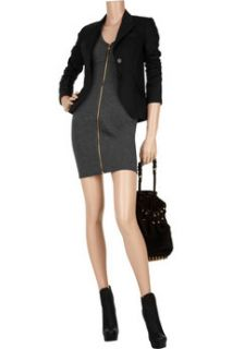 T by Alexander Wang Paneled stretch jersey mini dress   50% Off