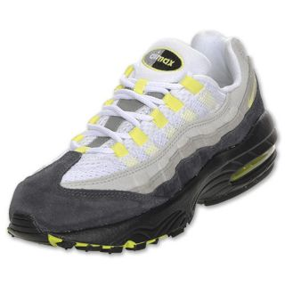 Boys Preschool Nike Air Max 95 Cool Grey/Neon