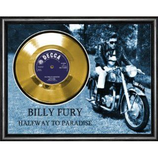 Billy Fury Halfway To Paradise Framed Gold Record A3