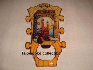 Hard Rock HO Chi Minh Guitar Head Bottle Opener Magnet