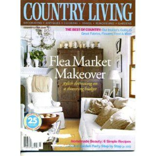 Country Living March 2003 Flea Market Makeover, 6 Simple Recipes