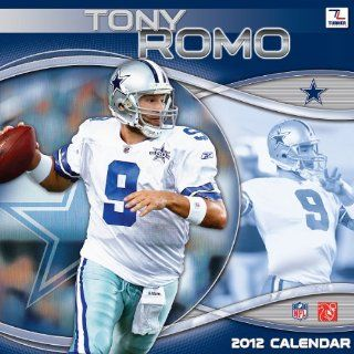 Tony Romo 2012 Wall Calendar Sports & Outdoors