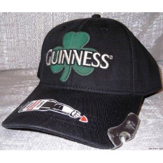 GUINNESS Clover Embroidered Snapback Baseball CAP/ HAT w