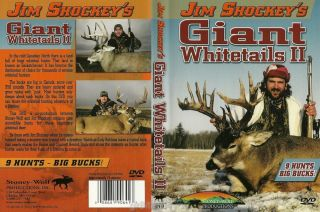Jim Shockey Giant Whitetails ll Buck Whitetale Deer Hunting DVD New