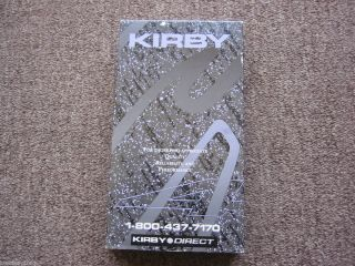 Used Kirby G4 Vacuum Cleaner VHS Tape Owners Instruction Manual G3 G5