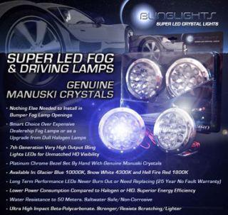 150 F150 Raptor SVT LED Fog Lamps Driving Lights Foglamps