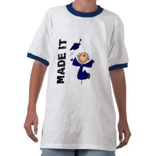HECHO LE la figura graduación del palillo T Shirt de