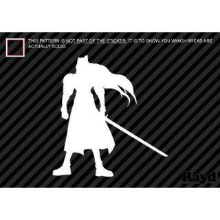 (2x) Sephiroth   FFVII   Sticker   Decal   Die Cut