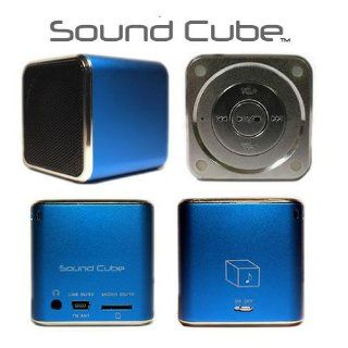 The Sound Cube Speaker Portable MP3/Mp4 FM Radio Player