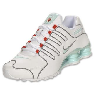 Womens Nike Shox NZ White/Mint Candy/Chillin Red