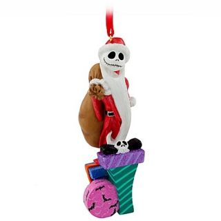 Santa Jack Skellington Nightmare Before Christmas Ornament