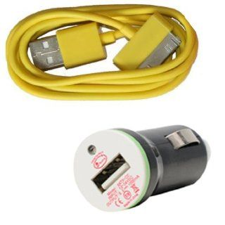LCE(TM)USB Car Charger Adapter Cable for iPod Touch iPhone