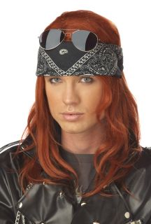 Adult Hollywood Rocker Halloween Costume Wig 70596