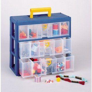 Clear Drawer Storage Unit Dimensions 5 5/8 L x 12 1/8 W x 11 H