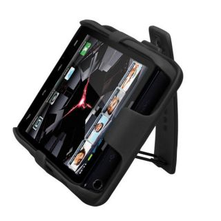 For Motorola Droid RAZR Combo Belt Clip Holster Hard Case Cover Stand