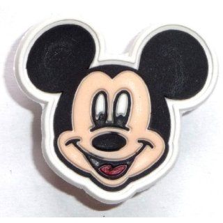 Mickey Mouse Head w White Rim Disney JIBBITZ Crocs Hole