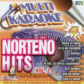 Multi Karaoke CDG Norteno Hits Vol. 2 OKE 0825 Various