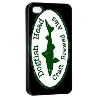 DogFish Head Beer Logo Case For iPhone 4/4s Black: Cell