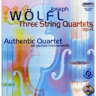 Wölfl Three String Quartets, Op. 4 Zsolt Kallo, Balasz