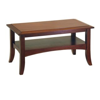 Craftsman Rectangular Coffee Table 34 Long New by Winsome Wood