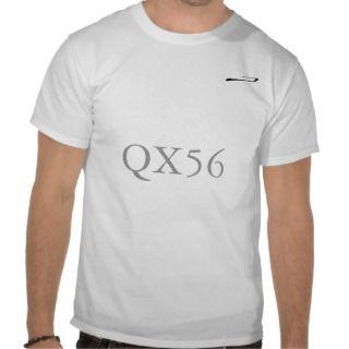 Infiniti QX56 Brush Stroke Logo T shirt