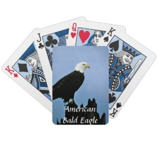 American Bald Eagle Playing Cards