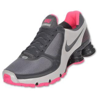 Nike Womens Shox Turbo+ 10 Running Shoe Dark Grey
