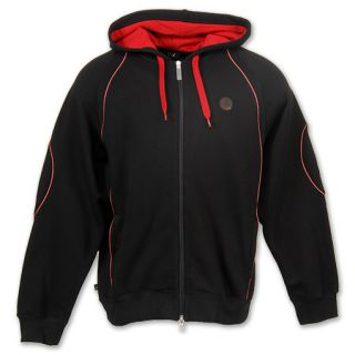 Jordan Retro 13 Mens Hoodie Black/Varsity Red