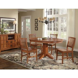 Home Styles Arts Crafts 5 PC Dining Set Cottage Oak