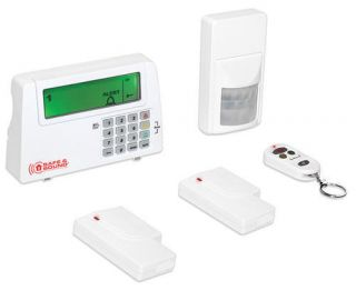 HOME WIRELESS ALARM SECURITY SYSTEM MOTION DOOR WINDOW SENSORS REMOTE