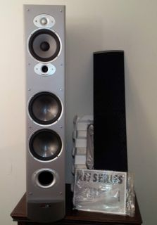 Polk Audio RTI10 Speaker Black Tower Loudspeaker Floorstanding