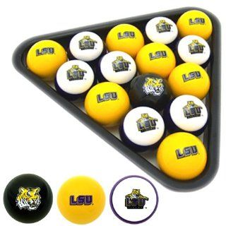 LSU Tigers Officially Licensed Billiard Balls Sports