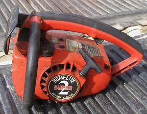 Homelite Super 2 Chainsaw Parts or Repair