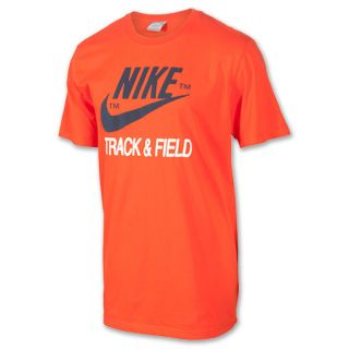 Mens Nike Track & Field Brand Tee Shirt Team