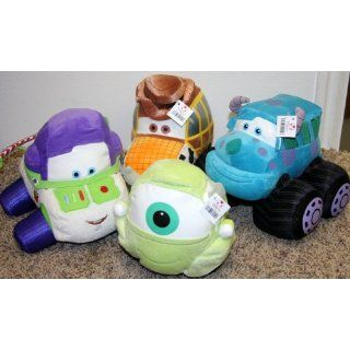 Disney Lightning McQueen Themed Plush Cars of Monsters Inc
