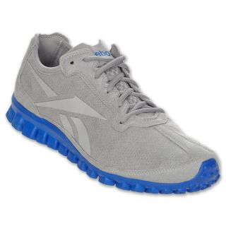 sports shoes 80605 1f958 ... Reebok Realflex Suede Mens Running Shoes Carbon ...
