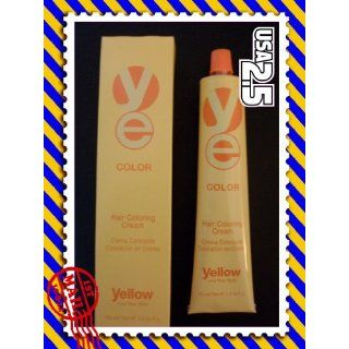 Yellow Hair Coloring Cream 3.42 (8.66 LIGHT INTENSE RED