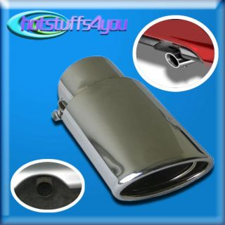 98 00 03 04 05 06 07 08 Honda Civic Chrome Exhaust Tip